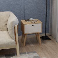 实木电视柜 北欧床头柜电视柜边柜沙发边几纯整装 整装