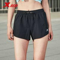 特步运动短裤女2019夏季新款运动装学生跑步健身女装透气梭织女裤881228679119