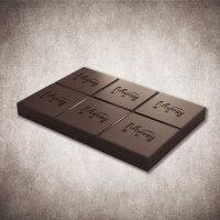 黑巧克力类 巧克力砖 大块 1000克 [特级][美乐臣出品]