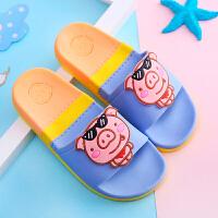 儿童拖鞋夏 男女童可爱卡通防滑软底凉拖鞋小孩居家浴室洗澡拖鞋