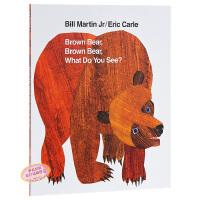 【中商原版】【送音频】棕熊 你看到了什么?Brown Bear, Brown Bear, What Do You See
