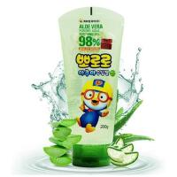 韩国 Pororo 宝露露芦荟胶儿童面霜 补水保湿止痒 晒后修复