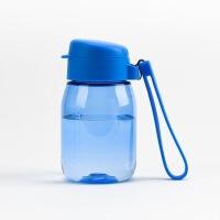 【当当自营】泰福高 儿童保温杯儿童吸管水杯带提绳男女宝宝便携防漏杯子蓝色
