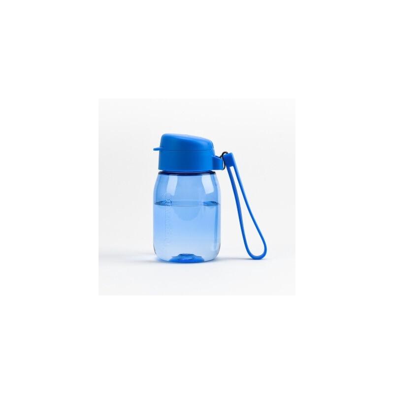 特百惠新品 嘟嘟企鹅杯350ML随手杯便携防漏迷你学生儿童塑料水杯轻紫蓝 滴水不漏 不含双酚A!