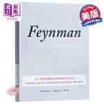 【中商原版】费曼物理学讲义卷一 英文原版 The Feynman Lectures on Physics, Vol.