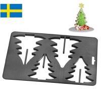 【当当海外购】瑞典进口Orthex姜饼屋3D模具烘焙DIY巧克力饼干模具(挪威的森林)