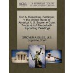 Cort A. Rosenhan, Petitioner, v. the United States of Ameri