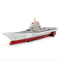 合金航空母舰声光回力军舰儿童玩具仿真辽宁舰航母军事模型