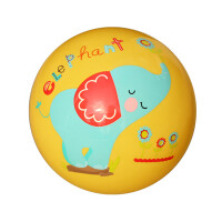 Fisher-Price美国费雪9寸宝宝拍拍球儿童玩具球充气皮球早教玩具