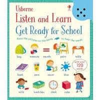 【现货】英文原版 触摸可发声英语单词卡片 Get Ready for School (Listen and Learn