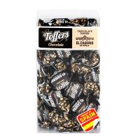 可飒 西班牙进口糖果 巧克力味奶糖 小长方体170g/盒