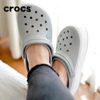 【节日钜惠】Crocs卡骆驰女鞋 厚底卡骆班夏季沙滩洞洞凉鞋|205434 厚底卡骆班