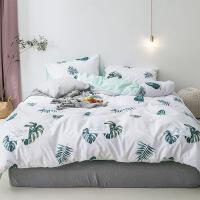 纯棉床上四件套公主风全棉1.5m1.8米双人床单被套床上用品