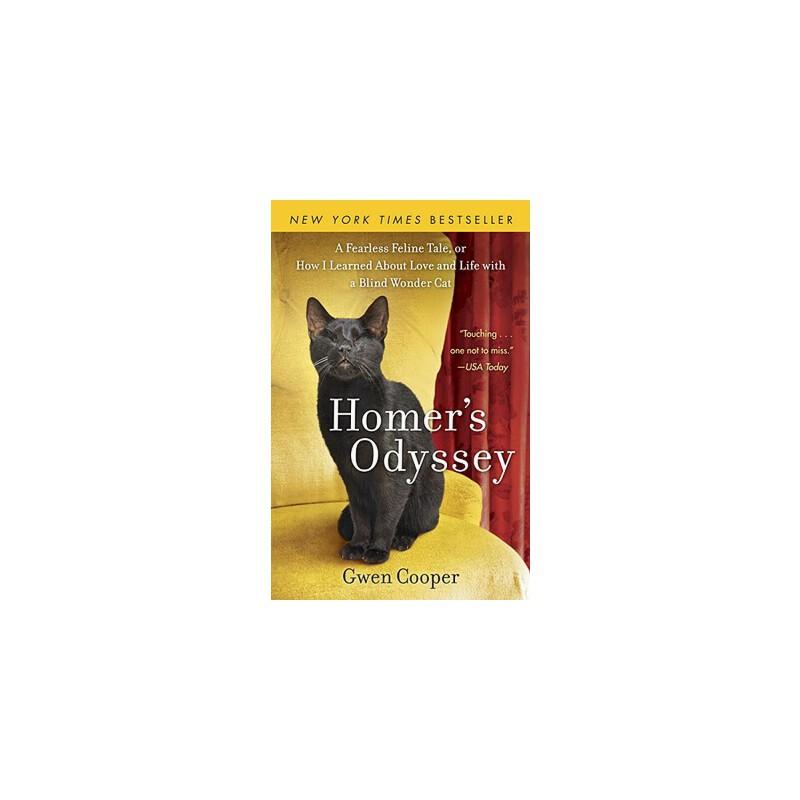 【预订】Homer's Odyssey  A Fearless Feline Tale, or How I Learned about Love and Life with a Blind Wonder Cat 预订商品,需要1-3个月发货,非质量问题不接受退换货。