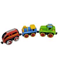 【当当自营】宝乐童益智玩具迷你火车2-6岁儿童玩具车6806