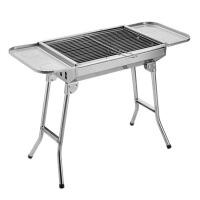 大号不锈钢烧烤炉户外便携烧烤架家用木炭折叠烧烤炉烤肉炉架
