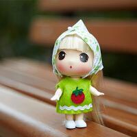 迷糊娃娃芭比娃娃女孩玩具迷你公主儿童仿真洋娃娃