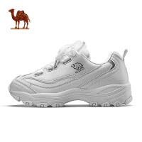 骆驼运动鞋女 熊猫鞋冬季新款复古厚底女鞋子时尚潮流休闲鞋
