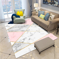 北欧式地毯简约现代美式客厅沙发茶几垫床边毯卧室满铺机洗定制