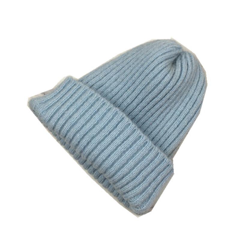 帽子女冬季纯色百搭多色针织帽韩版休闲英伦毛线帽潮冷帽套头帽男  M(56-58cm) 发货周期:一般在付款后2-90天左右发货,具体发货时间请以与客服协商的时间为准