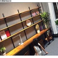 台式电脑桌实木书桌书架会议桌办公桌组合书房简约家用双人写字台