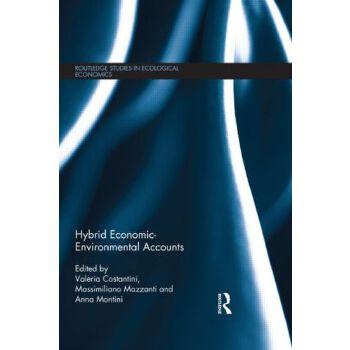 【预订】Hybrid Economic-Environmental Accounts 美国库房发货,通常付款后3-5周到货!