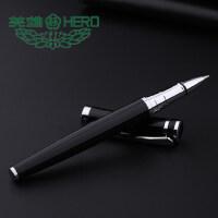 英雄宝珠笔2203金属男女商务办公水笔礼品笔学生用签字笔定制刻字