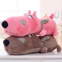 熊毛绒玩具长条枕趴趴熊趴趴狗抱枕娃娃公仔可爱玩偶睡觉抱女孩