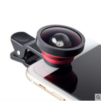 手机镜头超广角鱼眼三合一套装苹果通用自拍照相单反外置接摄像头RC
