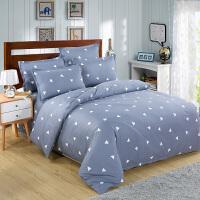 纯棉四件套全棉床品套件1.8m床上用品床单被套三件套1.5米