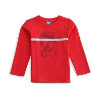 JOMA荷马男童长袖T恤休闲舒适运动上衣打底衫满200减40