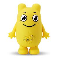 【当当自营】爱童咕力咕力卡通智能机器人 能跟动画片对话互动的机器人 - 黄色