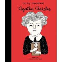 小女孩,大梦想:阿加莎・克里斯蒂 Agatha Christie 英文原版 精装绘本 名人传记 Little Peop