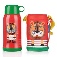 【包邮】虎牌Tiger儿童保温杯 杯盖款 双盖款可选 保温保冷水杯 不锈钢运动水壶(送杯套)