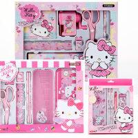 HelloKitty小学生文具礼盒套装女生儿童小礼物生日学习用品KT猫