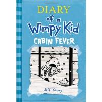 Diary of a Wimpy Kid #6: Cabin Fever 小屁孩日记6:幽闭症(美国版,平装)ISBN