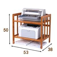办公书柜收纳小复印机桌子小型办公桌放文件栏书架家用打印机架子