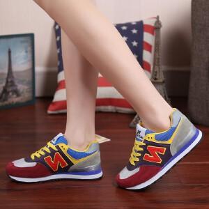 NBanao秋季新百伦新款韩版运动鞋女鞋潮鞋学生鞋女士休闲鞋平底跑步鞋板鞋单鞋