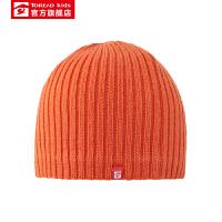 【商场同款4折价:39元】探路者帽子 19秋冬户外男女童腈纶编织针织帽QELH95343