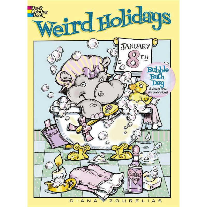 Weird Holidays (【按需印刷】) 按需印刷商品,15天发货,非质量问题不接受退换货。