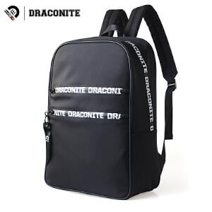 【支持礼品卡支付】DRACONITE潮牌双肩背包男女学院风街头字母条幅旅行学生书包11640