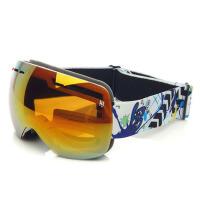 儿童滑雪镜护目镜球面大视野滑雪眼镜儿童 双层男女童