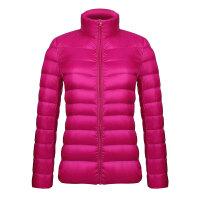 秋冬新款轻薄装羽绒服女立领短款休闲大码修身显瘦韩国小外套