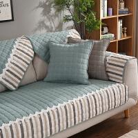 沙发垫布艺四季全棉欧式防滑坐垫简约现代客厅组合秋冬皮沙发套罩