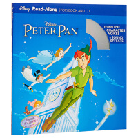 【中商原版】英文原版 儿童有声读物 彼得潘 PETER PAN READ-ALONG