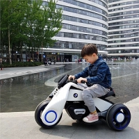 童车儿童电动摩托车汽车男女小孩三轮车可坐人