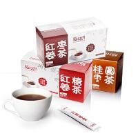陌上花开红糖姜茶+红枣姜茶+桂圆红枣茶 女人茶包邮 180x3盒