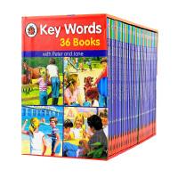 【中商原版】关键词 Key words ladybird 36册套装 英文绘本 分阅读快乐瓢虫