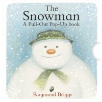 The Snowman Pull-out Pop-up Book 雪人立体书