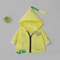 宝宝风衣外套女婴儿春装男童夹克上衣服春秋0一1-3岁潮韩版儿童装